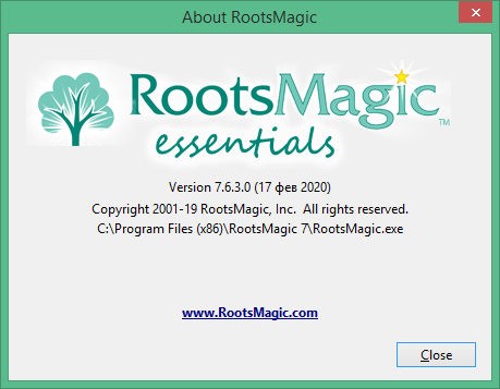 RootsMagic скачать