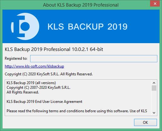 KLS Backup скачать торрент