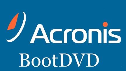 Acronis BootDVD