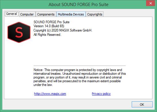 Sound Forge Pro Suite скачать