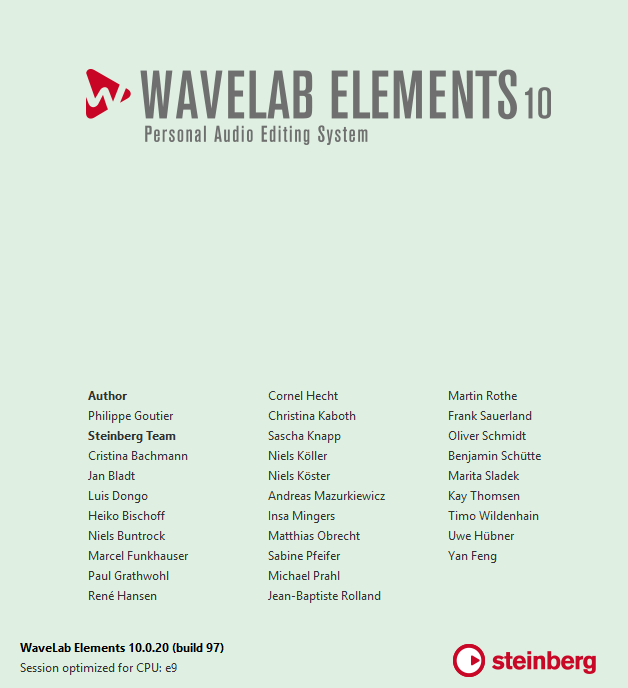 WaveLab Elements скачать торрент