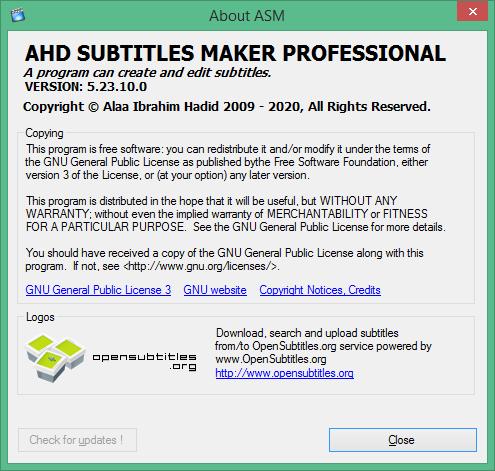 AHD Subtitles Maker Pro скачать