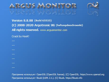 Argus Monitor скачать торрент