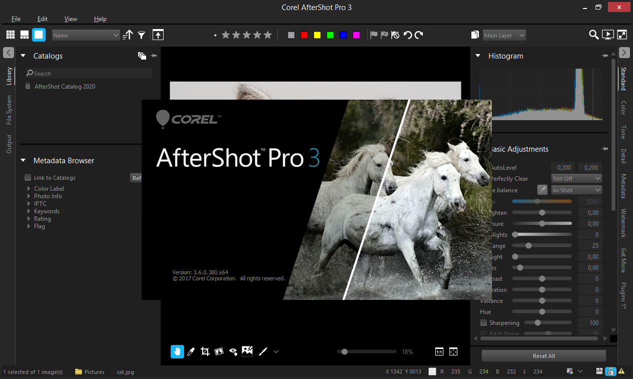 Corel AfterShot Pro скачать