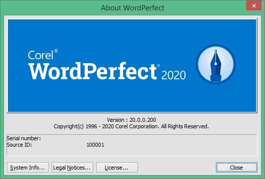 Corel WordPerfect Office скачать бесплатно