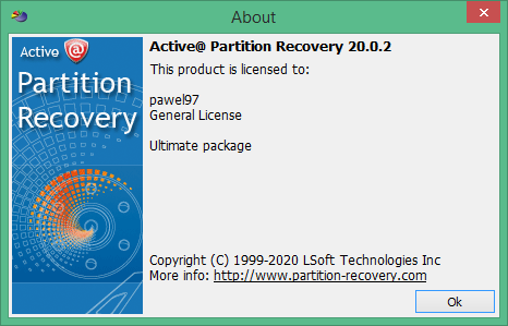 Active Partition Recovery скачать торрент
