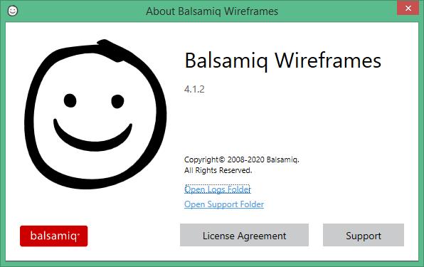 Balsamiq Wireframes key