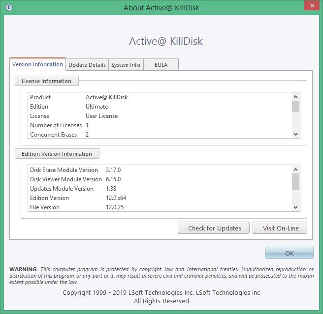 Active KillDisk скачать торрент