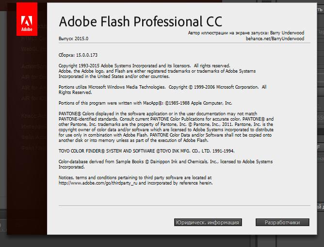 Adobe Flash Professional крякнутый на русском