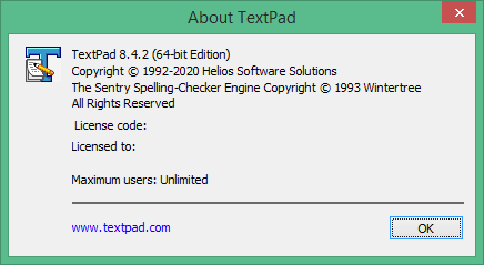 TextPad скачать