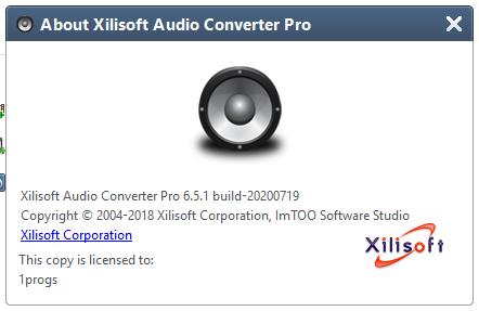 Xilisoft Audio Converter Pro торрент