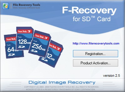 F-Recovery for SD скачать