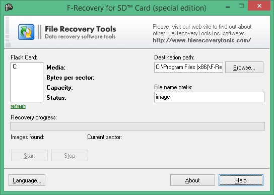 F-Recovery for SD