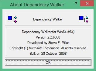 Dependency Walker скачать