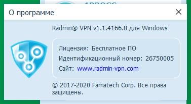 Radmin VPN скачать