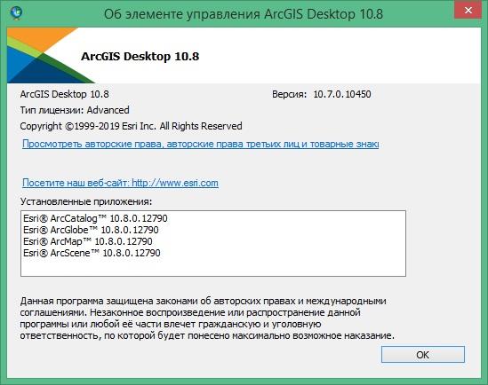 ArcGIS Desktop скачать
