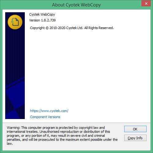 Cyotek WebCopy скачать