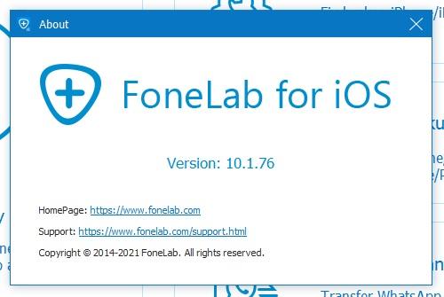 FoneLab for iOS код активации