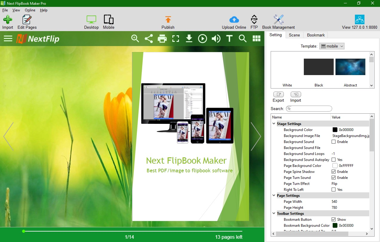 FlipBook Maker Pro