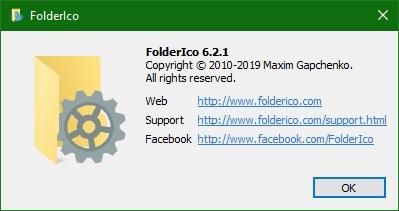 FolderIco скачать для Windows 10