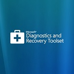 Microsoft Diagnostic and Recovery Toolset logo
