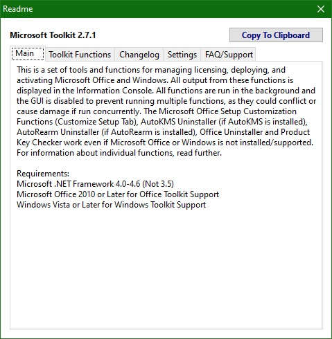Microsoft Toolkit скачать