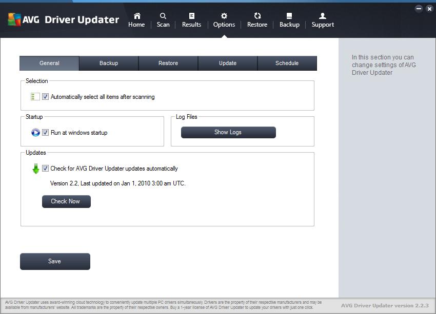 AVG Driver Updater скачать с ключом