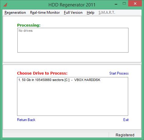 HDD Regenerator полная версия