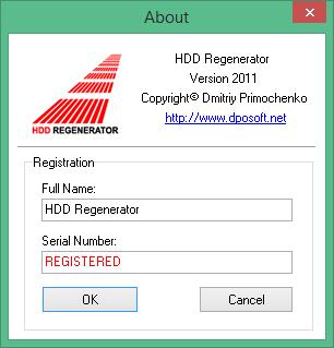 HDD Regenerator скачать полную версию с ключом
