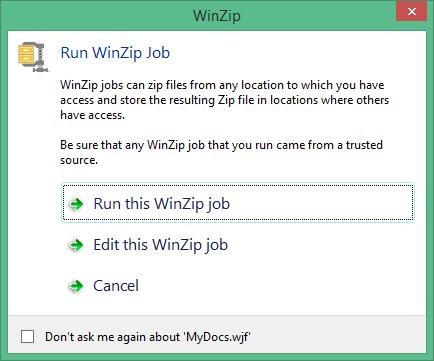 WinZip ключ