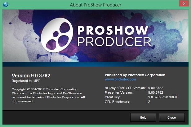 ProShow Producer скачать с ключом на русском