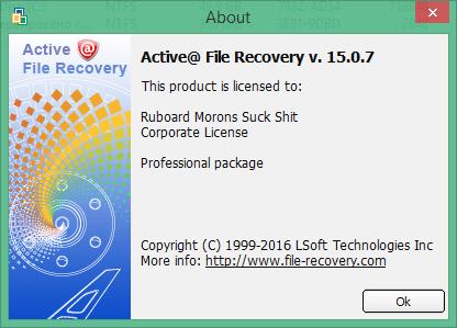 Active File Recovery скачать с ключом