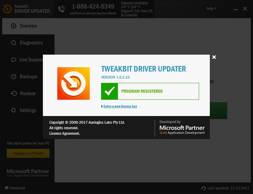 TweakBit Driver Updater скачать с ключом