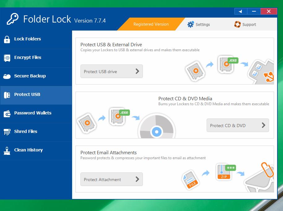 Folder Lock ключ