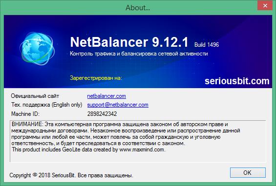 NetBalancer скачать с ключом