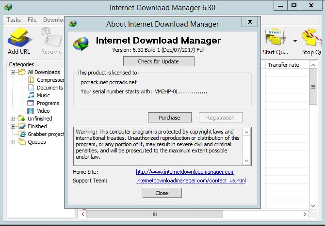 Internet Download Manager 6.30 Build 10