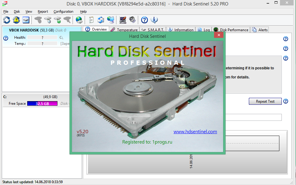 Hard Disk Sentinel Pro 5.20 Build 9372