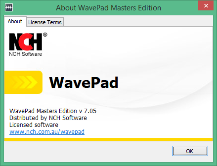 WavePad Sound Editor код активации