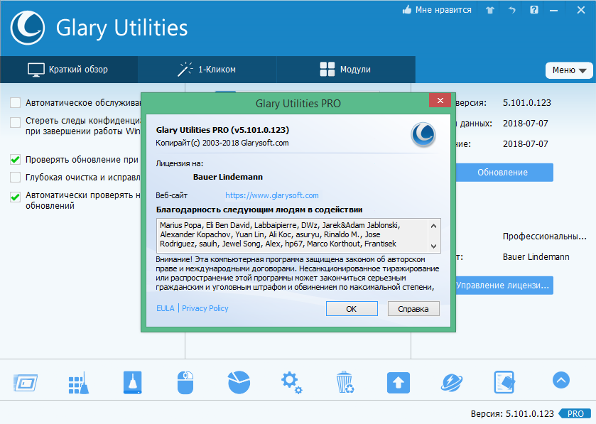 Glary Utilities Pro 5.101.0.123